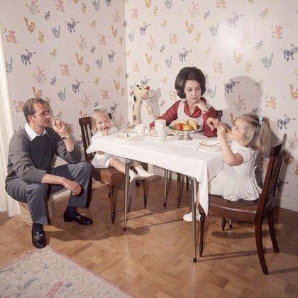 Imágenes de la vida en familia cuando aún Felipe no había nacido (Shutterstock)