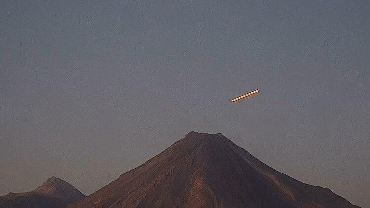 UN cuerpo celeste visto en México se hizo viral en redes sociales en marzo pasado debido a que muchos usuarios comentaron que parecía un ovni (Foto: Archivo)