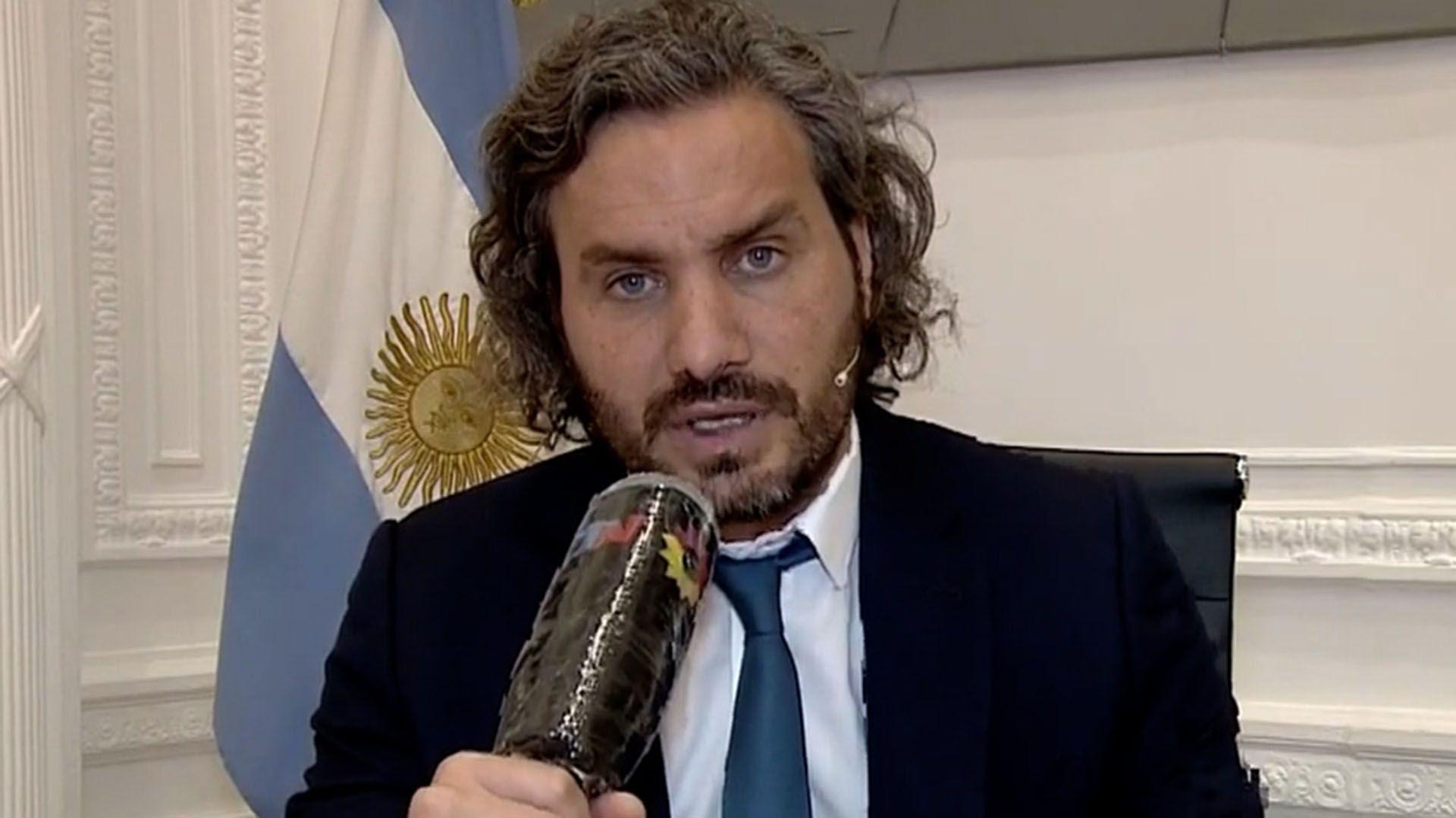 Santiago Cafiero en TN sobre el contrato de la vacuna Pfizer en Chile