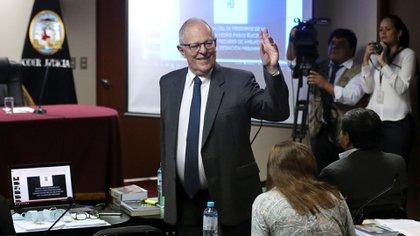 Pedro Pablo Kuczynski, ex presidente de Perú destituido en juicio político que llevó a Vizcarra como vicepresidente (Reuters)
