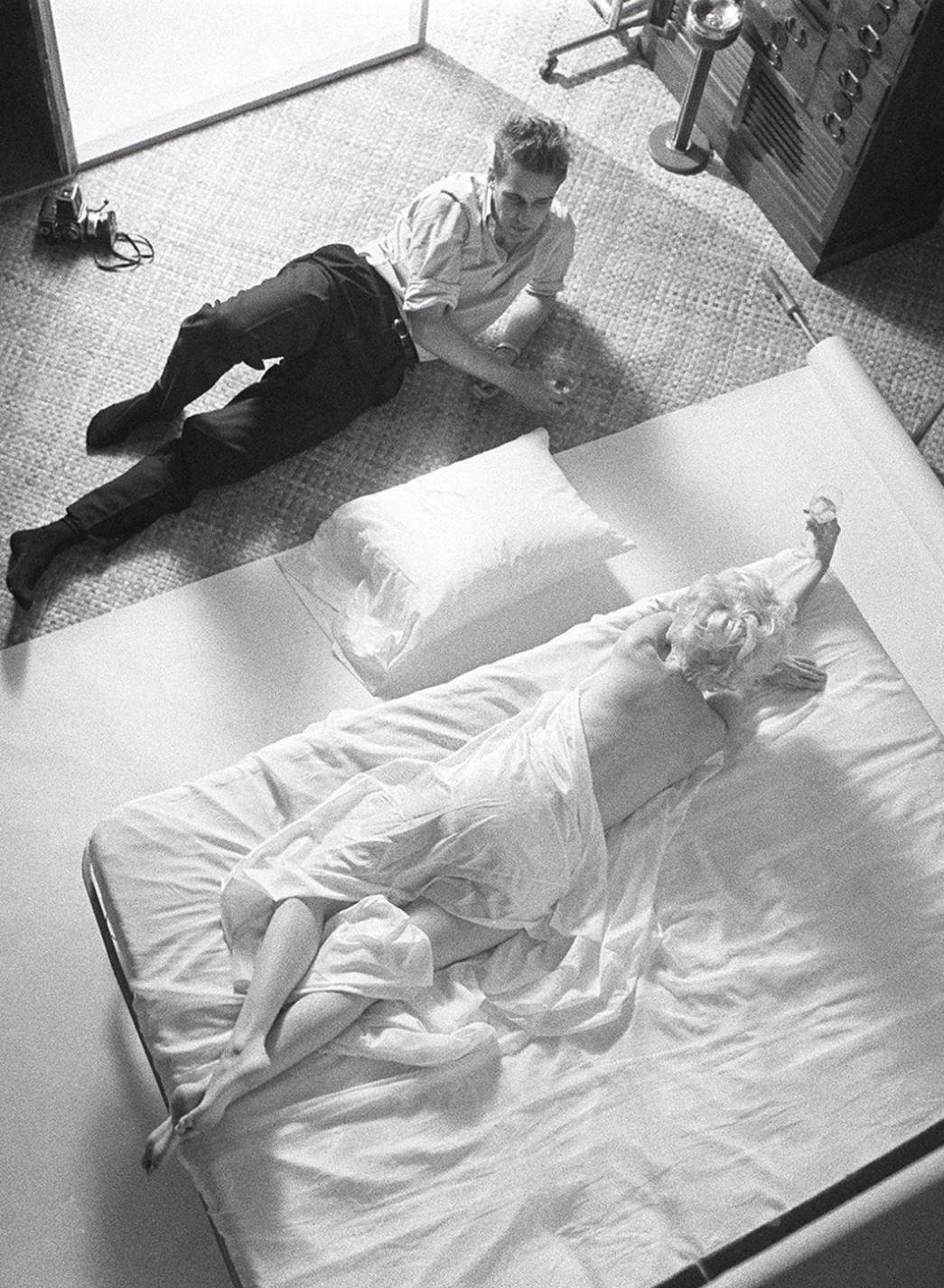 La intimidad de Marilyn Monroe con el fotógrafo Douglas Kirkland en una tarde-noche de noviembre de 1961 (Douglas Kirkland - Heritage Auctions - Christie's)