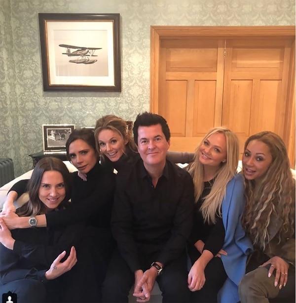 La gira dará comienzo en Inglaterra, conparticipación del productor histórico de las Spice Girls, Simon Fuller.