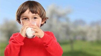 Decir que los niños que no consumen leche no tienen calcio es uno de los tantos mitos en torno a la alimentación. Foto: Archivo DEF.