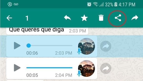 ¿Sabes cómo convertir tus audios de WhatsApp en texto?