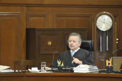 Zaldívar encabeza una reforma en el Poder Judicial desde su llegada a la presidencia de la SCJN en 2019 (Foto: Cuartoscuro)