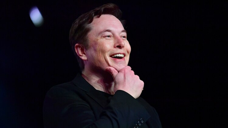 El CEO de Tesla, Elon Musk, habla durante la presentación del nuevo Tesla Model Y en Hawthorne, California, el 14 de marzo de 2019. (Foto de Frederic J. BROWN / AFP)
