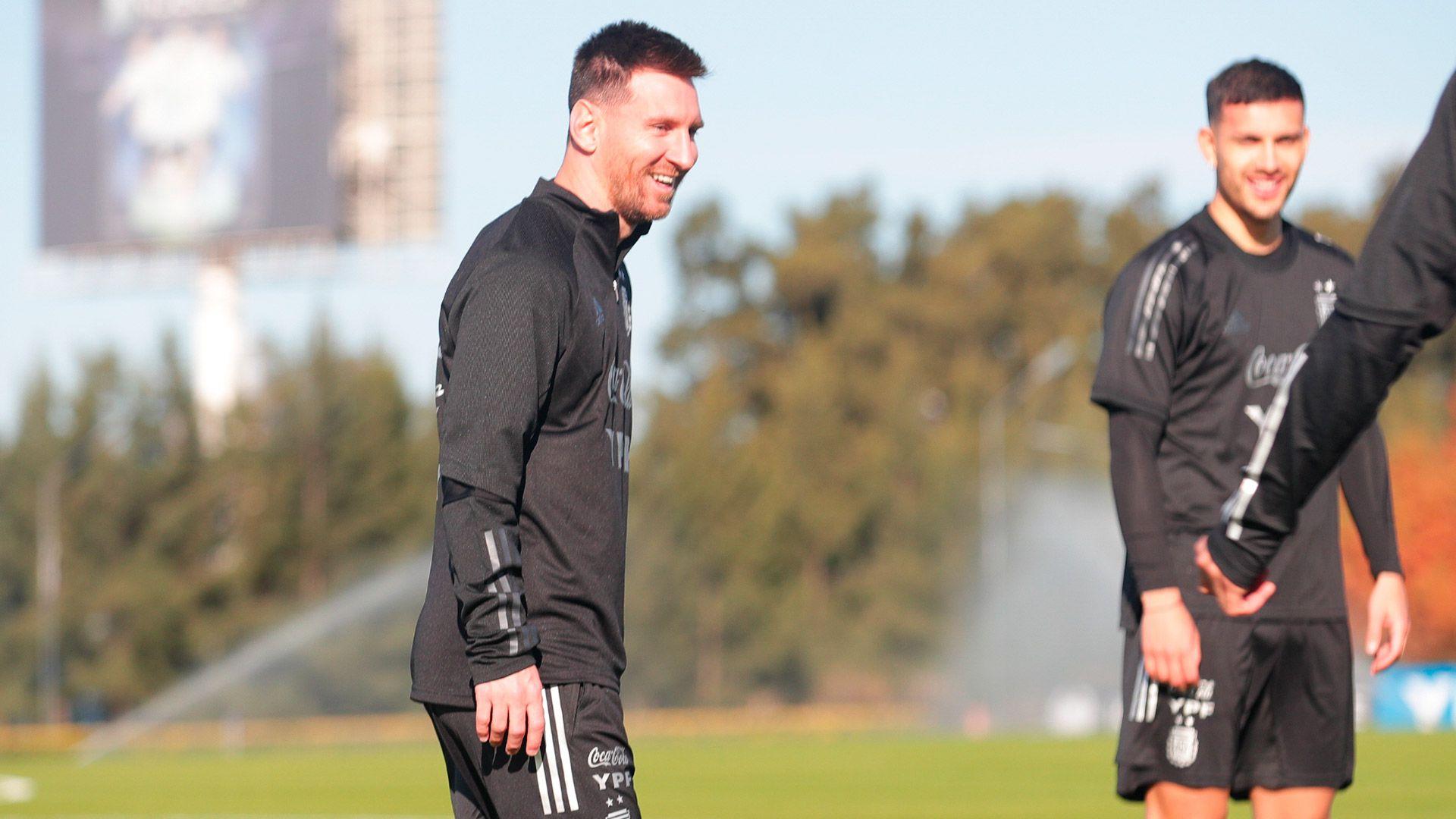 entrenamiento Selección Argentina