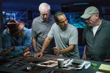 Esta película es la tercera colaboración actoralde Morgan Freeman y Michael Caine en el cine.