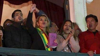 Jeanine Áñez, presidenta interina de Bolivia (Reuters)