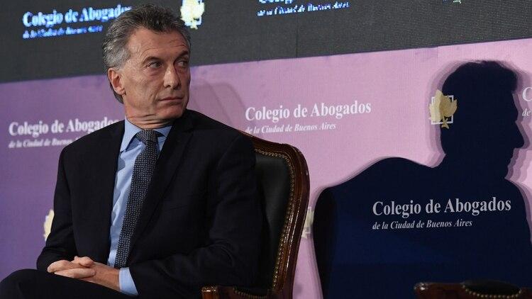 El presidente de la Nación, Mauricio Macri (Maximiliano Luna)