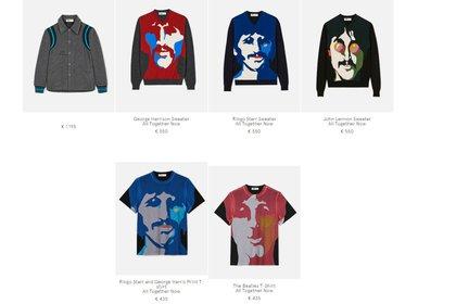 Los sweater con las caras de los cantantes a 550 euros