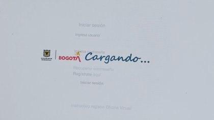 Fallo en la plataforma BogData / (Secretaría Distrital del Hacienda).