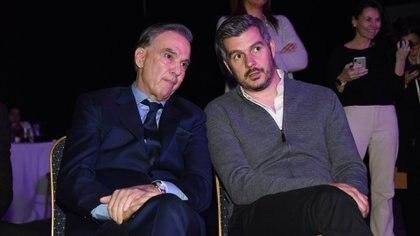 Miguel Ángel Pichetto y Marcos Peña