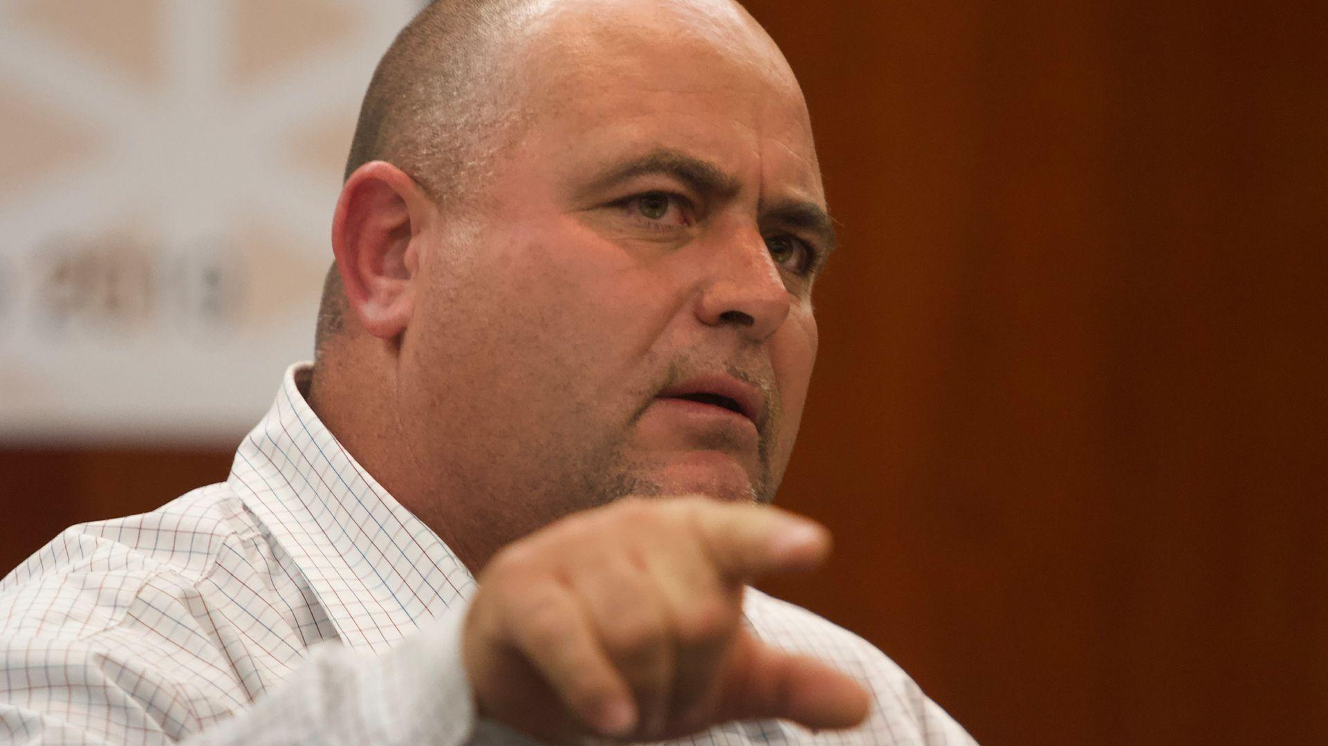 Julián LeBarón condenó la negligencia y posible colusión de Javier Corral (Foto: Cuartoscuro)