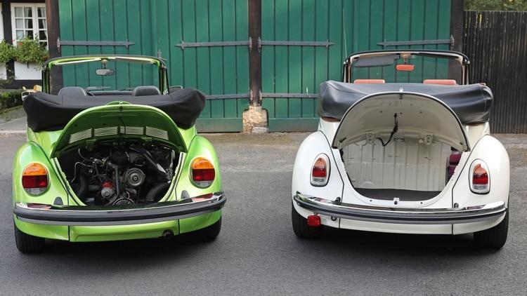 Diferencia sustancial con el viejo Beetle: el motor será delantero y no estará en la parte trasera