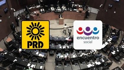 El PES era uno de los aliados de Morena, el partido de la mayoría; PRD, por su parte, era opositor (Fotoarte: Steve Allen)