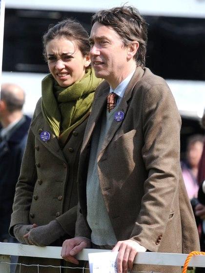 Rose Hanbury con su marido David Rocksavage (Grosby)