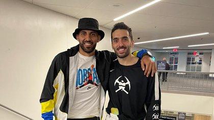 El encuentro de Facundo Campazzo con Wanchope Ábila y por qué no jugará en la visita de Denver a los Detroit Pistons