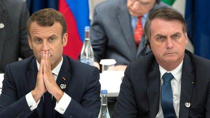 Los mandatarios, durante el G20 en Osaka. Desde entonces, la relación ha ido en picada (AFP)