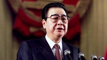 Li Peng, ex premier de China durante la Masacre de Tiananmen (Reuters)