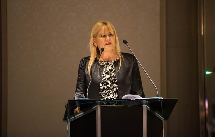 La ministra de Justicia Marcela Losardo