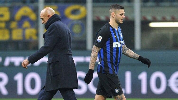 Continúa la crisis entre el Inter y Mauro Icardi  no fue convocado para  jugar la Europa League c2da492fc33