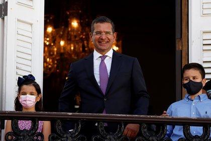 Al asumir en enero, el gobernador de Puerto Rico, Pedro Pierluisi, dijo que exigirá al Congreso que se respete la voluntad popular expresada en el referéndum sobre la incorporación. (EFE/Thais Llorca)