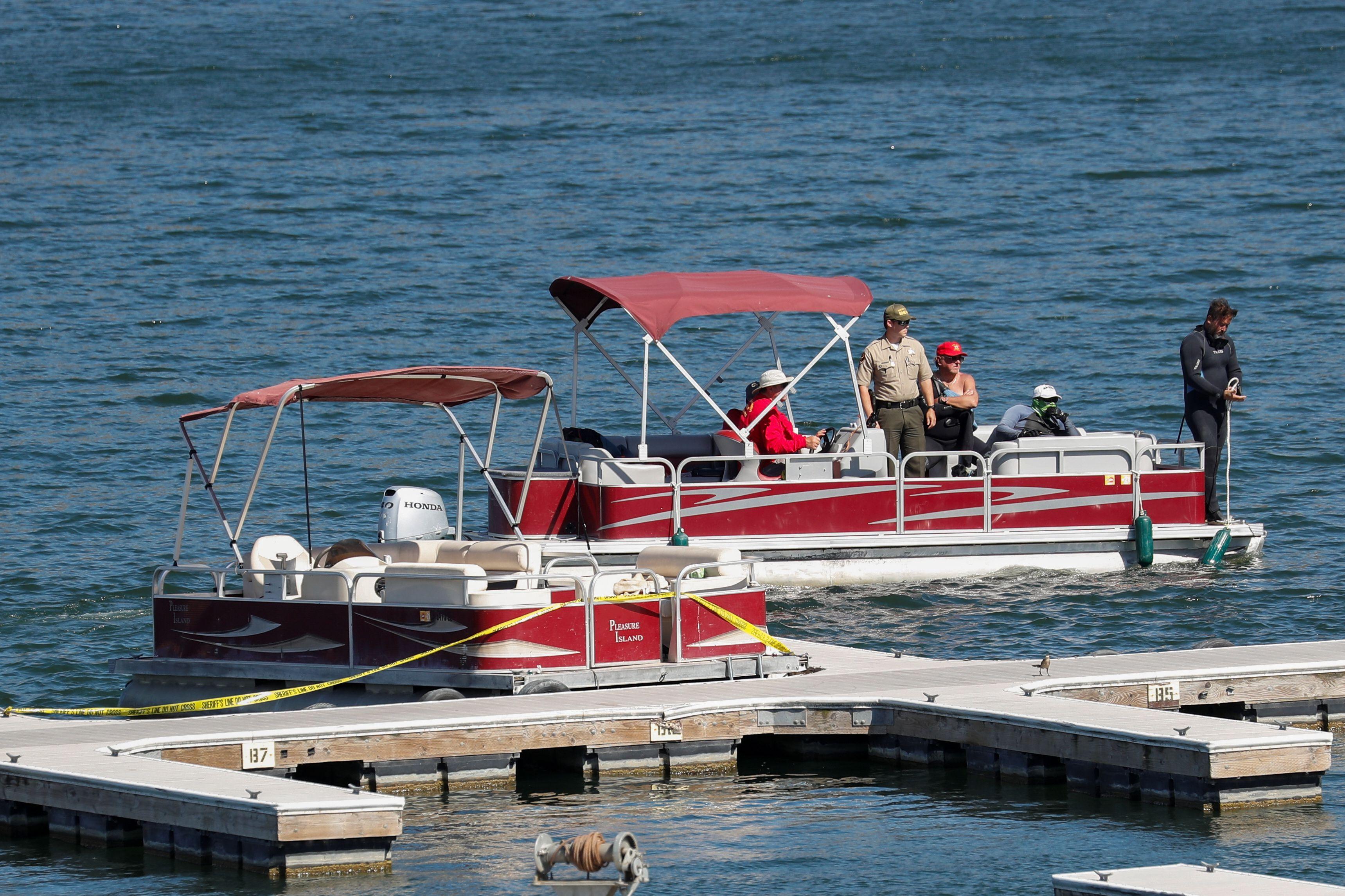 Este era el bote que fue usado por Rivera en el momento de su desaparición (Foto: REUTERS/Mario Anzuoni)