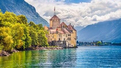 En Ginebra se encuentra la villa Diodati que albergó a los Shelleydurante un tiempo (Getty Images)