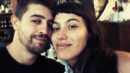 La imagen de Santiago Siciliano y su novia Rocío Herrera