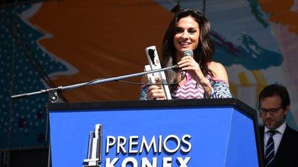 Gabriela Sabatini fue seleccionada por Lionel Messi para que reciba el Konex de Brillante (Maximiliano Luna)