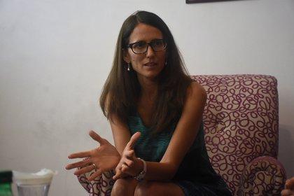 La Ministra de las Mujeres, Géneros y Diversidad Elizabeht Gómez Alcorta confirmó que pidió información sobre la situaciòn en Formosa. (Nicolás Stulberg)