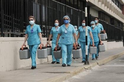 Traslado de vacunas contra la COVID-19 en Perú. EL COMERCIO / ZUMA PRESS / CONTACTOPHOTO