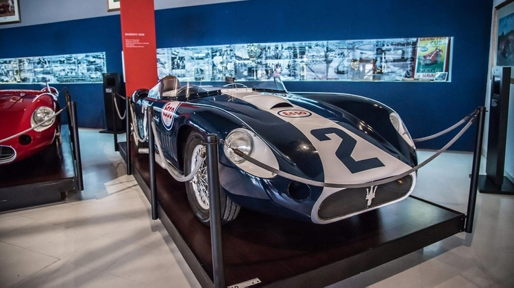 El museo Fangio hoy en Balcarce, el cual conoció Jackie Stewart durante el funeral y hasta llegó a recomendar que los restos del quíntuple campeón descansarán allí. (Museo Fangio)