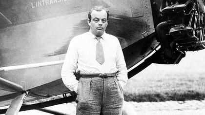 Saint-Exupéry fue pionero en la aeronavegación postal en varias regiones, entre ellas América del Sur, y especialmente en nuestro país (AFP)