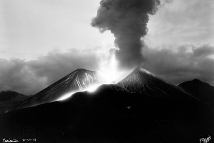 La lava cubrió más de 300 km2 (Foto: Rafael García/SINAFO/INAH)