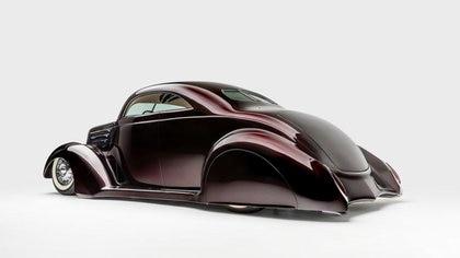 El hot-rod de Hetfield es de los pocos que hay en el mundo sobre este auto. (Museo Petersen)