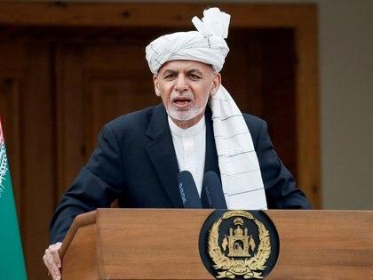 El presidente afgano, Ashraf Ghani