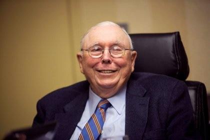 El vicepresidente de Berkshire Hathaway Corporation, Charlie Munger. Foto de archivo. REUTERS/Lane Hickenbottom