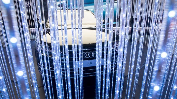 El nuevo Audi A8, presentado en el pasado Salón de Frankfurt, también visitó Tokio (Getty)