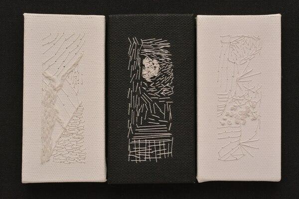 Pieza textil de Patricia Saporiti