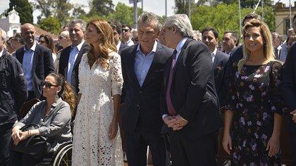 Mauricio Macri y Alberto Fernández (foto de archivo: Gustavo Gavotti)