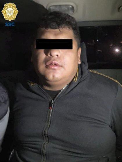 Joshua Aguilar, alias El Pechugas es presunto miembro de la Unión Tepito y cercano al Chori (Foto: SSC-CDMX)