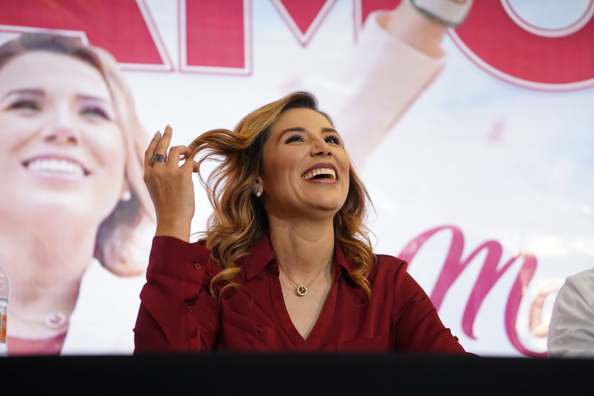 Marina del Pilar Ávila Olmeda se declara virtual ganadora a la gubernatura de Baja California.