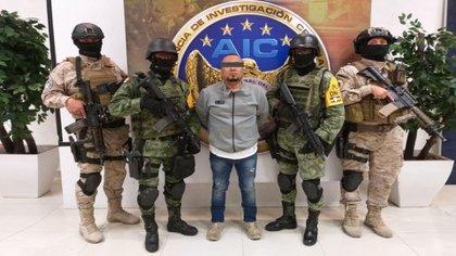 Detención de El Marro en Guanajuato (Foto: Cortesía Fiscalía Guanajuato)