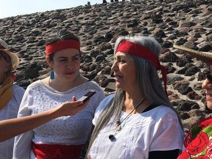 Visitantes consideran que en este lugar pueden entrar en contacto con sus raíces (Foto: Infobae)