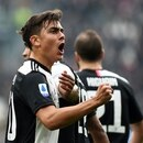 Soccer Football - Serie A - Juventus v Brescia - Allianz Stadium, Turin, Italy - February 16, 2020 Juventus' Paulo Dybala celebrates scoring their first goal REUTERS/Massimo Pinca