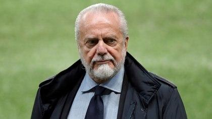 De Laurentiis cargó contra la UEFA - REUTERS/Gonzalo Fuentes/File Photo