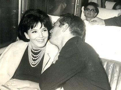 Graciela Borges con Paul Newman (Film&Arts)