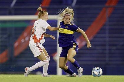 Boca y River se enfrentaron en enero en la final del torneo argentino (REUTERS/Juan Ignacio Roncoroni)
